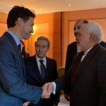 ظریف با نخست وزیر کانادا دیدار و گفتگو کرد