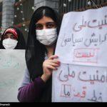 تجمع اعتراضآمیز مردم آذربایجانشرقی به سخنان اردوغان