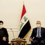 درخواست رئیسی از مصطفی الکاظمی برای پیگیری لغو روادید ایران و عراق